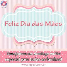Feliz Dia das Mães para todas as mamães.  Que o domingo seja muito especial com muito amor.  www.lupavi.com.br  #LupaviPatchwork #artesanato #customizado #personalizado #criativo #patchwork #quilting #feitoamão #DiaDasMães #FelizDiaDasMães #domingo #10deMaio #DomingoEmFamília #família #maio #MêsDasMães #amor #vida #Mãe #Mães #Mamãe #mãezinha #MãeCoruja #MelhorMãeDoMundo #Presente #mimo #PresenteDiaDasMães #SerMãe #AmorDeMãe #Lupavi
