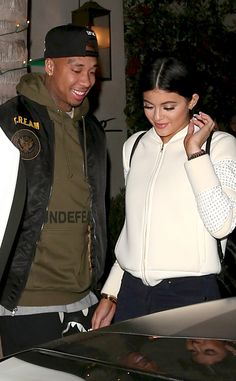 Kylie Jenner and Tyga Can't Hide Their Smiles During Date Night in Beverly Hills—See the Proof!  Kylie Jenner, Tyga