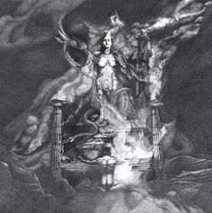 Original Classical mythology Drawing by Artem Grigoryev Classical Mythology, Fairytale Art, Surreal Art, Dark Art, Surrealism, Paper Art, Fantasy Art, Screen Printing, Saatchi Art