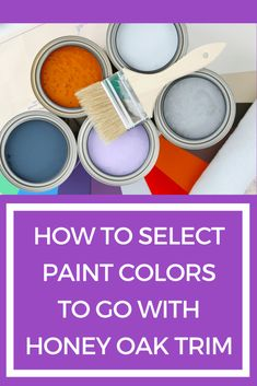 Struggling to pick a paint color that looks fabulous with your honey oak trim or cabinets? This blog post explains the most important thing you need to consider when selecting a paint color to go with that typical 90s oak trim.