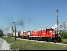 RailPictures.Net Photo: BLOL 7591 Bloomer Line EMD GP9 at Strawn, Illinois by Chris Lastovich