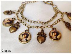 Oscar Wilde inspired bracelet,more accessories on my blog here: http://giugizu.blogspot.it/2014/04/oscar-wilde-inspired-accessories.html