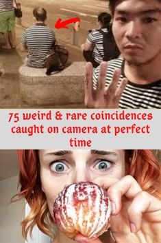 Some people believe that coincidences are nothing more than a series of random events that have no underlying message or meaning, 75 weird & rare coincidences caught on camera at perfect time Birthday Nail Art, Heroes Actors, Psychology Facts, Show Photos, Coincidences, Fun Facts, Weird, Make It Yourself, Shit Happens