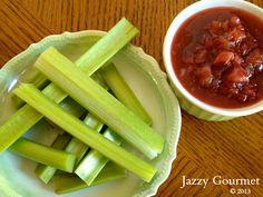Rhubarb Basics by Jazzy Gourmet