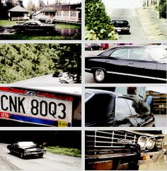 [gifset]  Three days later another car rolled off that same line. No one gave two craps about her, but they should've. Because this 1967 Chevrolet Impala would turn out to be the most important car… no, the most important object in pretty much the whole universe. #Impala #SPN
