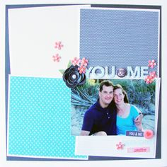 So That's Hybrid? 8 Ideas for Using Digital Scrapbooking Products On Paper Pages   Michelle Houghton   Get It Scrapped