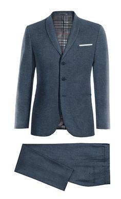 Blue linen Suit http://www.tailor4less.com/en-us/men/suits/4014-blue-linen-suit