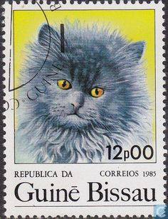 Postage Stamps - Guinea-Bissau - Cats
