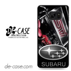 Subaru Engine Black DEAL-10228 Samsung Phonecase Cover For Samsung Galaxy Note 7