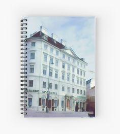 Apotheke Spiral Notebooks  vectorised photo taken in Vienna  vienna austria europe city cityscape architecture exterior wien Österreich innenstadt innere stadt freyung