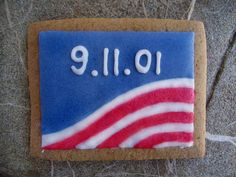 Dedicated to 9/11 victims #cookies #WTC #9/11