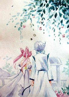 World of Eternal Sailor Moon — Fanart by ASH. Sailor Moon Fond, Sailor Moon Drops, Sailor Moon Girls, Arte Sailor Moon, Sailor Moon Manga, Sailor Saturn, Sailor Moon Crystal, Sailor Venus, Chibiusa And Helios