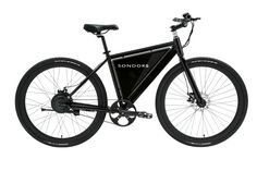 Sondors eBike THIN Black with White Background