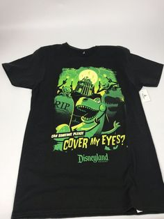 dc7ccffb Disney Parks Haunted Mansion Rex From Toy Story/ T-Shirt Small | eBay #