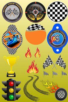 Hot Wheels Circles and cutouts Hot Wheels Birthday, Race Car Birthday, Cars Birthday Parties, Hot Wheels Cake, Hot Wheels Party, Imprimibles Hot Wheels, Race Party, Birthday Invitations Kids, Boy Quilts