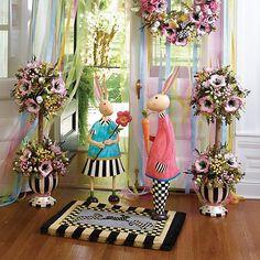 MacKenzie-Childs   Hand-painted ceramics, dinnerware, furniture, home decor, and gifts