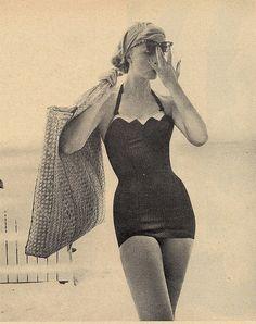 Vintage swimsuit inspiration...