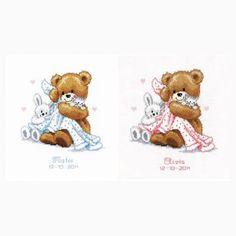 Sampler nascita - orsacchiotto