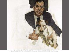 Lucian Freud - Guy & Speck (1981)