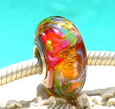 GLITTERIZE OPAL Fully Lined Sterling Silver Big by beachlifebeads, $26.00