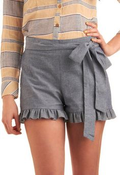 I could never wear it, but dang are those cute shorts?