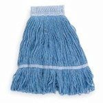 SKILCRAFT 30866 Mop,Wet,24 Oz,Blue by SKILCRAFT. $9.05. Looped-End Wet Mop, Material Cotton/Synthetic Blend, Dry Weight 22 to 28 oz., Blue, Launderable Yes, Headband Size 5-1/2 In.4 Ply