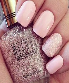 Beautiful Light Pink Nails