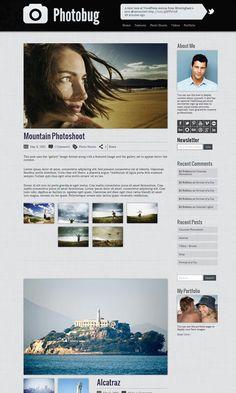 wordpress photography theme : http://themetailors.com/feature/wordpress-photography-themes/