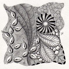 Zentangle Pattern Gallery | Recent Photos The Commons Getty Collection Galleries World Map App ...