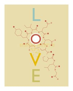 Oxytocin Molecule Printable Graphic Design by DandelionGraphicsCo,-  for all of my birth junkie friends.  All hail Oxytocin - the hormone responsible for love, bonding and birth.