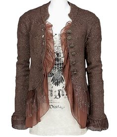 BKE Boutique Pieced Cardigan Sweater -- $66.00