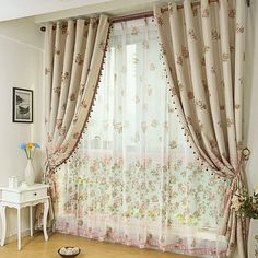 Curtains decor ideas - Little Piece Of Me
