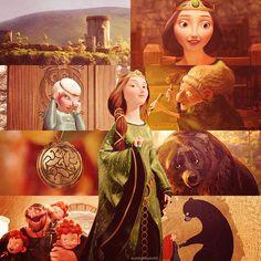 Queen Elinor Brave Disney Love Magic Walt Costume