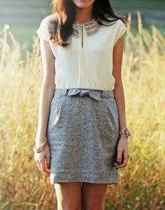 sequinsandsarcasm:  Sarah Vickers of Classy Girls Wear Pearls