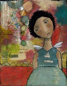 Kelly Rae Roberts by rosalind