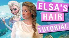 Elsa And Anna Hair Tutorial2 Hair Styles For Each Person  HolidayHair #Hair #Trusper #Tip