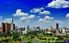 Toàn cảnh thủ đô Nairobi
