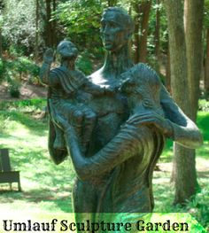 Free Fun in Austin: UMLAUF Sculpture Garden Free All Summer