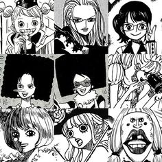 The women of One Piece