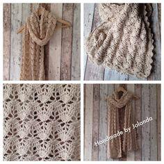 Handmade by Jolanda: Geneva sjaal