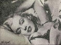 Kfir Moyal, Marilyn (Laying Down) available at #gallartcom