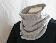 Knitting Pattern Cowl - Woven Cowl via Craftsy