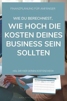 Lerne, wie Du Ausgaben für Dein Business richtig betrachtest und berechnest, wann sie sich für Dich lohnen. Hol Dir auch den kostenlosen Kostencheck.