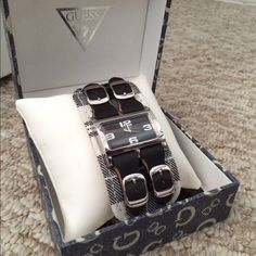 Guess watch Never been worn. Does not include battery Guess Other Guess Bags, Fashion Design, Fashion Tips, Fashion Trends, Designer Handbags, Shop My, Watches, Purses, Best Deals