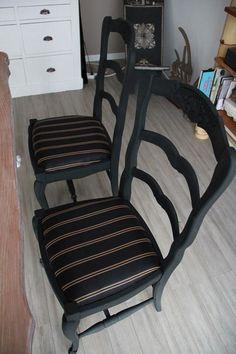 relooking chaises par FD