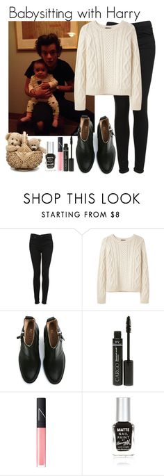 """Babysitting with Harry"" by elise-22 ❤ liked on Polyvore featuring Topshop, A.P.C., Acne Studios, CARGO, NARS Cosmetics, River Island, OneDirection, harrystyles, 1d and Baby"