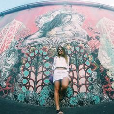 pinterest ~ @radstel ❥ Wynwood Walls Miami, Selfies, Murals Street Art, Hip Hop Art, Graffiti Wall, Photos Tumblr, Tumblr Photography, Urban Art, Pretty Pictures