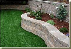 Retaining Walls, Garden Walls, Patio Walls and Fences