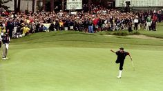 A great moment in golf for one of the best.Payne Stewart US Open) I remember where I was when I watched this. Golf With Friends, 65th Birthday, Womens Golf Shoes, Ladies Golf, Looking Back, Finals, In This Moment, Sports, Sticks