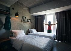 Ad: Woman in Hotel Room by Pikoso Photography on Woman in the beautiful and bright hotel room opening the curtains. Bedroom Photography, Interior Photography, Photography Poses, Woman Photography, Travel Photography, E Dublin, Travel Pose, Hotel Room Design, Marriott Hotels